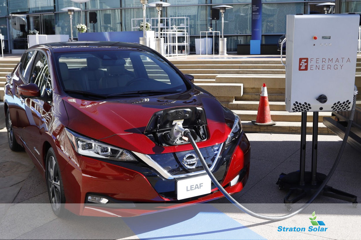 LEAF Nissan Energy Share