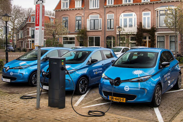 Renault Vehicle to grid