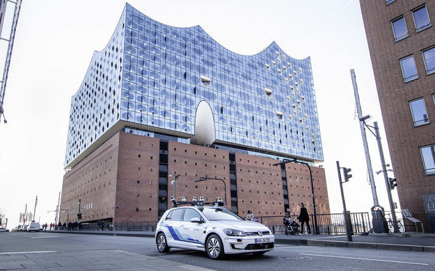 Driverless in Hamburg