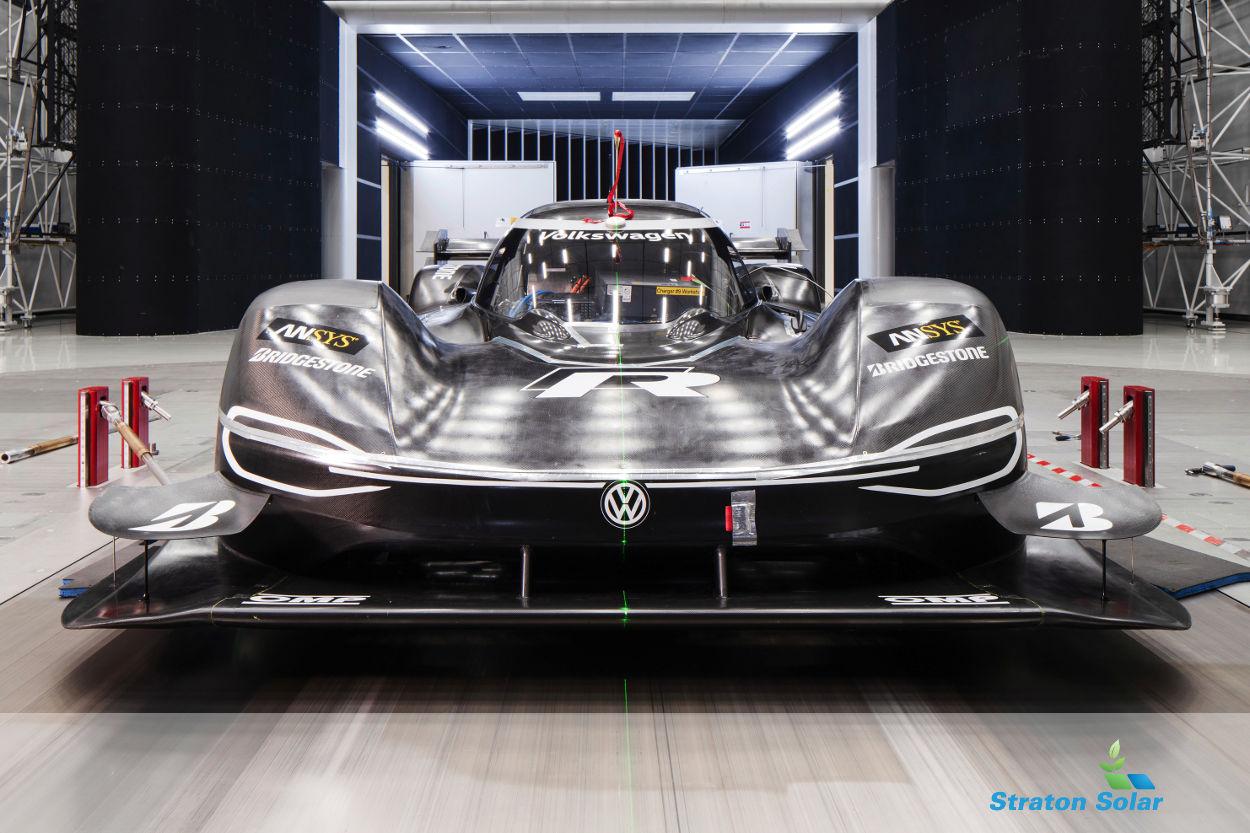VW ID-R Wind Tunnel