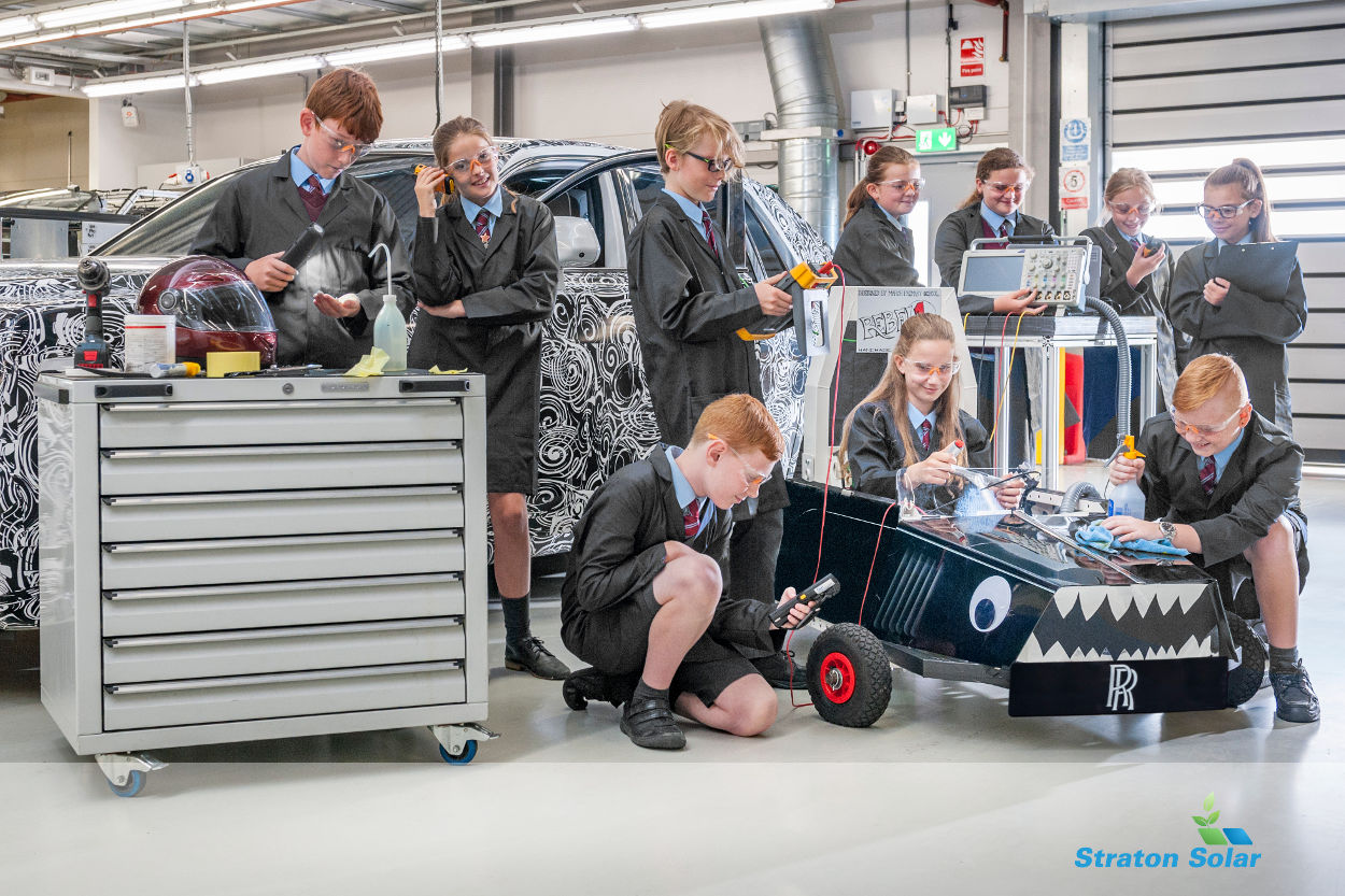 Rolls Royce School Electric_Challenge