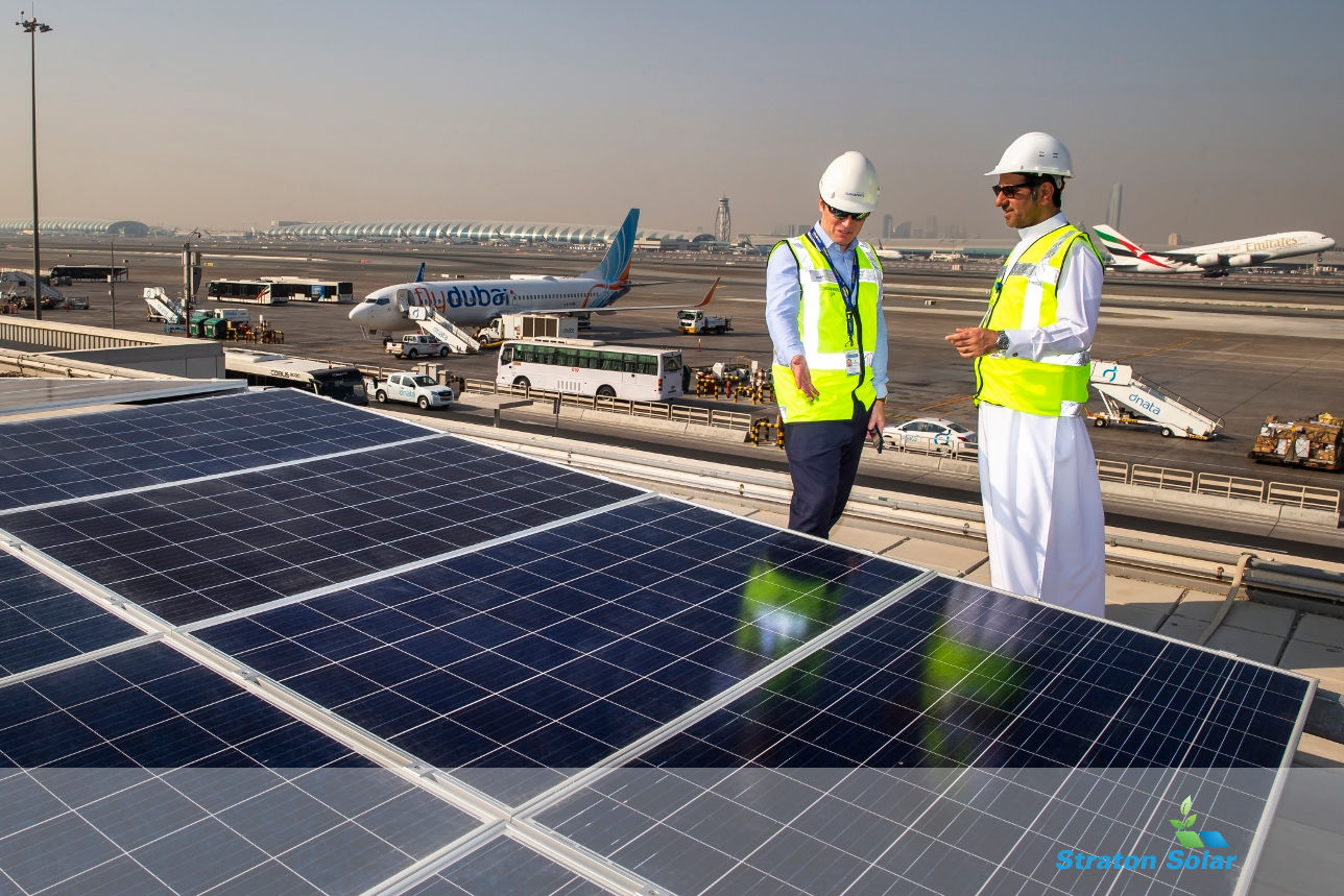 Solar Panels - Dubai Airport
